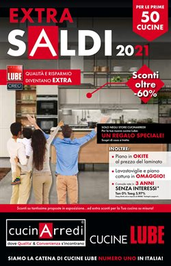 Offerte Tutto per la casa e Arredamento nella volantino di CucinArredi a Paderno Dugnano ( Scade domani )