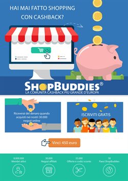 Offerte di ShopBuddies nella volantino di Merate