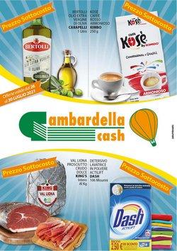 Offerte di Gambardella Cash nella volantino di Gambardella Cash ( Scade domani)