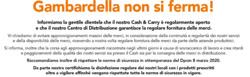 Coupon Gambardella Cash a Salerno ( Scade domani )
