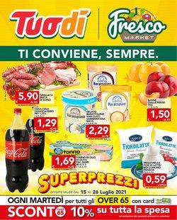 Offerte di Iper Supermercati nella volantino di Fresco Market ( Scade oggi)