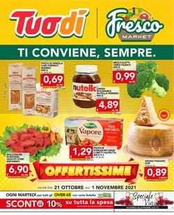 Offerte di Iper Supermercati nella volantino di Fresco Market ( Pubblicato ieri)
