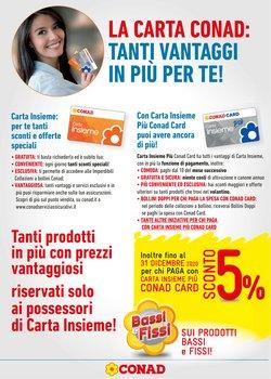 Offerte Iper Supermercati nella volantino di Conad a Potenza ( Più di un mese )