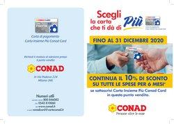Catalogo Conad a Milano ( Più di un mese )