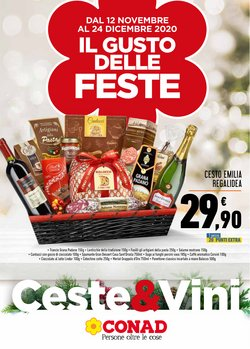 Offerte Iper Supermercati nella volantino di Conad a Ferrara ( Più di un mese )