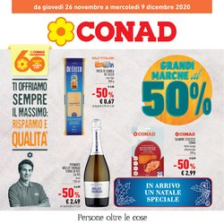Offerte Iper Supermercati nella volantino di Conad a Cagliari ( 3  gg pubblicati )