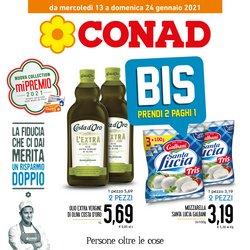 Offerte Iper Supermercati nella volantino di Conad a Santa Teresa di Riva ( Per altri 2 giorni )