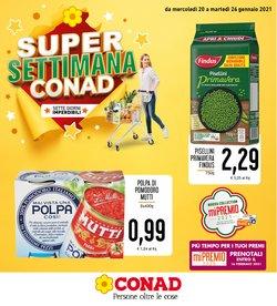 Offerte Iper Supermercati nella volantino di Conad a Catania ( Scade domani )