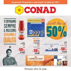 Offerte Iper Supermercati nella volantino di Conad a Asti ( Pubblicato oggi )