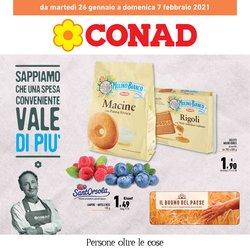 Offerte Iper Supermercati nella volantino di Conad a Vicenza ( 2  gg pubblicati )