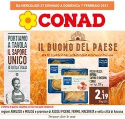 Offerte Iper Supermercati nella volantino di Conad a Macerata ( 2  gg pubblicati )