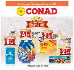 Offerte Iper Supermercati nella volantino di Conad a Misterbianco ( Pubblicato oggi )