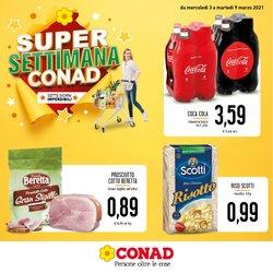 Offerte Iper Supermercati nella volantino di Conad a Misterbianco ( Scade domani )