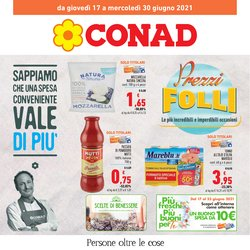 Offerte di Conad nella volantino di Conad ( Per altri 11 giorni)