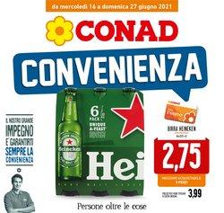 Offerte di Iper Supermercati nella volantino di Conad ( Per altri 3 giorni)