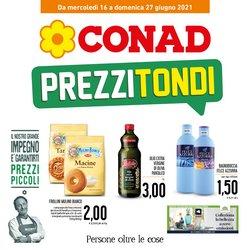Offerte di Iper Supermercati nella volantino di Conad ( Pubblicato oggi)