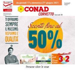Offerte di Conad nella volantino di Conad ( Pubblicato oggi)