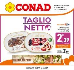 Offerte di Iper Supermercati nella volantino di Conad ( Scade domani)