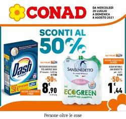 Offerte di Iper Supermercati nella volantino di Conad ( Per altri 10 giorni)