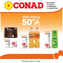Offerte di Iper Supermercati nella volantino di Conad ( Pubblicato ieri)