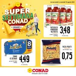 Offerte di Iper Supermercati nella volantino di Conad ( Per altri 5 giorni)