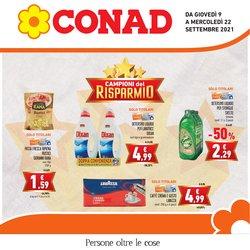 Offerte di Conad nella volantino di Conad ( Scade domani)