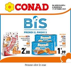 Offerte di Conad nella volantino di Conad ( Scaduto)