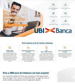 Offerte Banche e Assicurazioni nella volantino di UBI Banca a Cagliari ( Per altri 29 giorni )