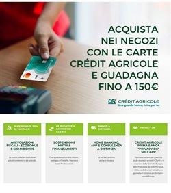 Offerte Banche e Assicurazioni nella volantino di Crédit Agricole a Seregno ( Più di un mese )