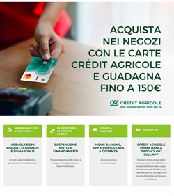 Catalogo Crédit Agricole ( Più di un mese )
