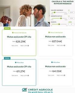 Offerte di Crédit Agricole nella volantino di Crédit Agricole ( Per altri 20 giorni)
