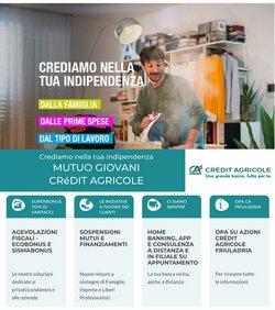 Offerte di Banche e Assicurazioni nella volantino di Crédit Agricole ( Per altri 25 giorni)