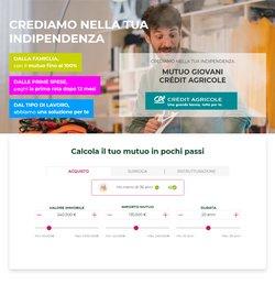 Offerte di Crédit Agricole nella volantino di Crédit Agricole ( Per altri 14 giorni)