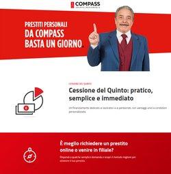 Offerte di Banche e Assicurazioni nella volantino di Compass ( Più di un mese)