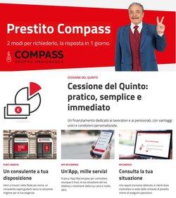 Offerte di Banche e Assicurazioni nella volantino di Compass ( Per altri 8 giorni)