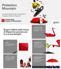 Offerte di Banche e Assicurazioni nella volantino di Sparkasse ( Per altri 26 giorni)