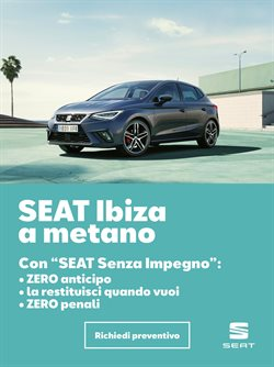 Offerte Auto, Moto e Ricambi nella volantino di SEAT a Padova ( Per altri 29 giorni )