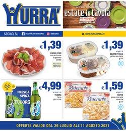 Offerte di Iper Supermercati nella volantino di Hurra' ( Pubblicato ieri)