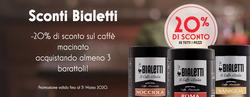 Coupon Bialetti a Roncadelle ( Scade oggi )