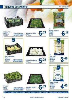 Offerte di Broccoli a Metro