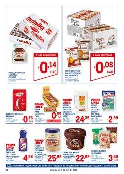 Offerte di Nutella a Metro