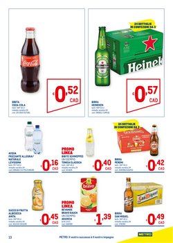Offerte di Heineken a Metro