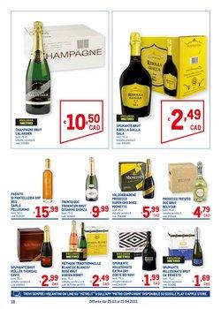 Offerte di Champagne a Metro