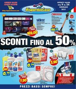 Offerte Tutto per la casa e Arredamento nella volantino di Risparmio Casa a Livorno ( Scade oggi )