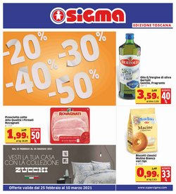 Catalogo Sigma a Firenze ( Per altri 2 giorni )