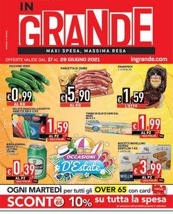 Offerte di Iper Supermercati nella volantino di InGrande ( Per altri 6 giorni)