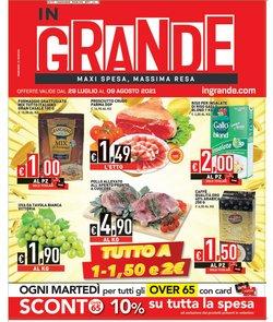Offerte di Iper Supermercati nella volantino di InGrande ( Pubblicato ieri)
