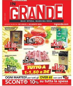 Offerte di Iper Supermercati nella volantino di InGrande ( Per altri 11 giorni)