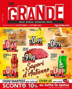 Offerte di Iper Supermercati nella volantino di InGrande ( Pubblicato oggi)