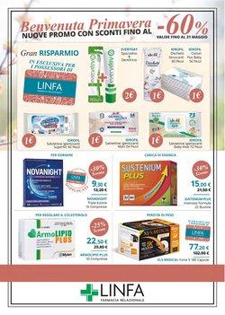 Offerte Salute e Ottica nella volantino di Linfa Farmacie a Vittoria ( Più di un mese )